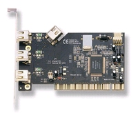 18008---IEEE-1394  (Firewire) PCI card  3 x  ext. 1 x int.