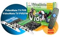 18011---Compro TV PVR Tuner card PCI, incl. afstandsbed.