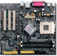 12818---AOpen MK77M mainboard met XP2000+ en cooler