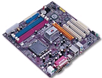 12199---Mainboard ECS P4M800PRO-M