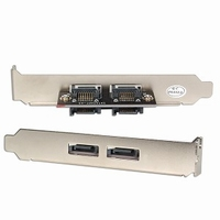 12923---2-Port SATA External Standard Bracket