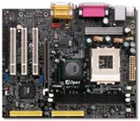 12824---AOpen MK77M mainboard met XP2200+ en cooler