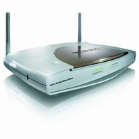 23023---Wireless Router / Modem ADSL Philips SNA6500 54Mbps