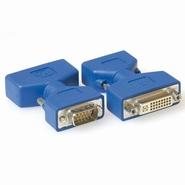 25043 --- 15-Pin VGA (M) Adapter to 24-Pin DVI-A (F)