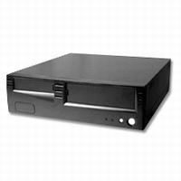 21030 --- Case AOpen H340 Slimline Desktop 200w black used