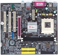 12174---Mainboard AOpen vKM400Am-S