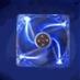 16048---D12SM-12 Fan 12cm Yate Loon Transparent Blue
